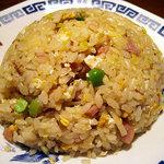 中華食堂 好味園 - 「醤油ラーメンと半チャーハンのセット」の半チャーハン