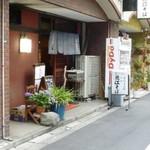 近江そば - 2012.06 路地の店です