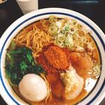 波音食堂 - 辛魚生姜 味玉トッピング