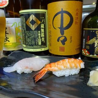 日本酒は季節に合わせたものを常時数種類ご用意