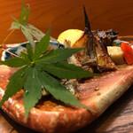 日々魚数寄 東木 - コレまた盛り付けが美しい!