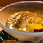 日々魚数寄 東木 - 自家製豆腐と黒蜜きな粉デザート