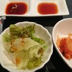 焼肉せんりゅう - ハラミ食べ比べセット