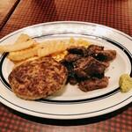 熟成牛ステーキバル Gottie's BEEF - ハンバーグ&カットステーキ