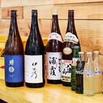 羽田市場食堂 - 日本酒・ドリンク集合