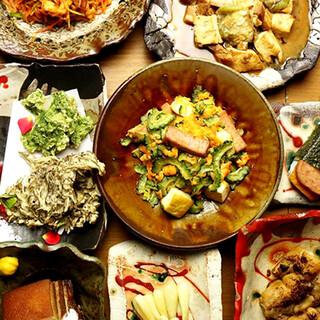 【沖縄ご当地グルメ】炭焼笑店陽プロデュースの沖縄料理店