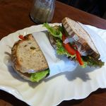 13321182 - 野菜サンド(カンパーニュ ※食パンと選べます)
