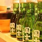 のらくら - 日本酒・焼酎も旭川のものをご用意しております