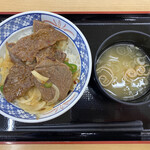 前沢サービスエリア(下り線)レストラン - 料理写真:前沢牛焼肉丼 1160円税込