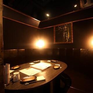 【各種ご宴会に最適】接待向け個室は最大6名様までご利用可。
