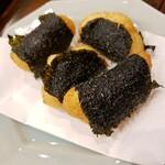 azabushiki - 大和芋の磯部揚げ (700円)