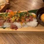 133215991 - まぐろユッケ寿司