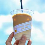 コーヒースタンド ポレポレ - 2020年7月再訪:カフェラテ☆