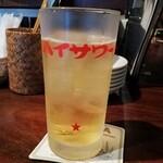 タイ屋台 チャオ チェンマイ - メコンウィスキーソーダ