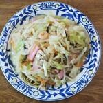 平和食堂 - 料理写真:皿うどん(太麺)@700