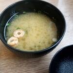 こだわりとんかつ 神楽 - お味噌汁