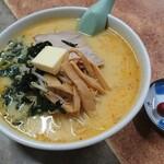 133226044 - 味噌カレー牛乳ラーメン(バター入り)