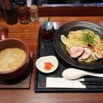 麺や いま村 - 鶏海老つけ麺 ※数量限定