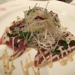 シェ ケン - 料理写真:マグロのカルパッチョ