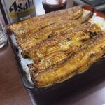 133231647 - ♦︎鰻重肉厚大盛り ¥4,840