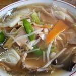 中華そば マルバン - 野菜ラーメン