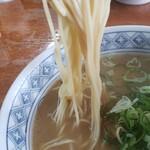 中華そば マルバン - 中細ストレート麺