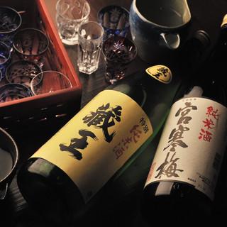 宮城の日本酒はもちろん。隠し酒で東北六県の銘酒も堪能