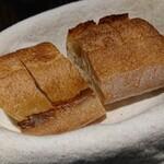 ビストロ カリーノ - Bランチコース 4,200円、羊肉プラス300円(税込)、バケット