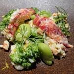 ビストロ カリーノ - Bランチコース 4,200円、羊肉プラス300円(税込)
