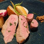 ビストロ カリーノ - Bランチコース 4,200円、羊肉プラス300円(税込)、子羊のロースト