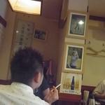 居酒屋 赤頭巾 - 店内には女子プロゴルファーの女将さんの娘の写真が!