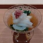 Nishikawa - 2020.07.素麺、烏賊の刺身添え