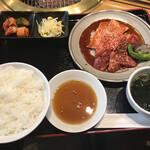 KENYA - 上肉焼ランチ