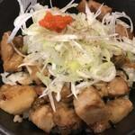 コ・ビアン - 炙りチャーシュー丼アップ(7/16)