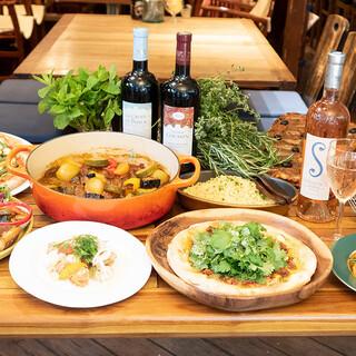 """今年はワインも""""とびきり""""♪と南仏プロヴァンスのお料理"""