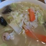 中国料理聚仙 - 野菜の盛り具合