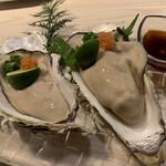 シュリンプバンク - 生牡蠣大好きー!また食べられて幸せ