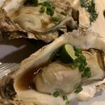 シュリンプバンク - 焼き牡蠣も大好き!!また食べられて幸せいっぱい