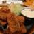 女とみそ汁 - 料理写真:鰯フライ