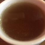 イタリア大衆食堂 堂島グラッチェ - コンソメスープ (*´-`)