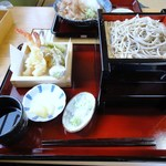 そばや 幸 - 料理写真:天ぷらそば