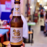 酒とアジア屋台料理 アローイ兄弟 - シンハービール