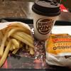 バーガーキング - 料理写真:チーズバーガーセット