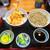 そば処 まる山 - 料理写真:天丼セット 720円(税込)【2020年7月】