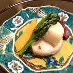 Ebisuchuukataizan - 帆立柚子胡椒炒め