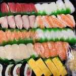 コストコ - 一度食べてみたかった「寿司ファミリー48貫」が¥300引きの「¥2378」で!!
