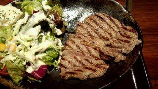 炭火焼神戸牛いく田 - ステーキアップ