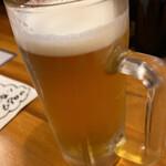 地球食堂 - 生ビール
