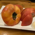 地球食堂 - 冷やし白河トマト