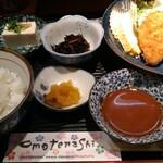 和食ふじわら - 900円税込みのフライランチ。まあ満足できる。